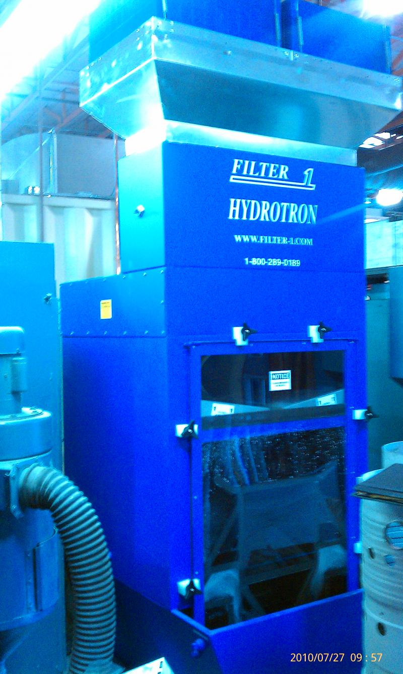 Filter-1 Hydrotron Wet Dust Collector